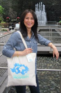 My Social Canvas tote bag inspired by Whole Planet Foundation