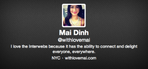 withlovemai is on Twitter! Follow me @withlovemai