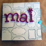 Handmade card for mai