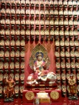 Inside Buddha Tooth Relic Temple and Museum in Singapore Chinatown