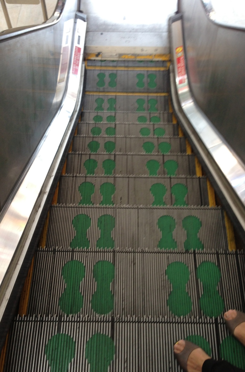 Escalator in Singapore